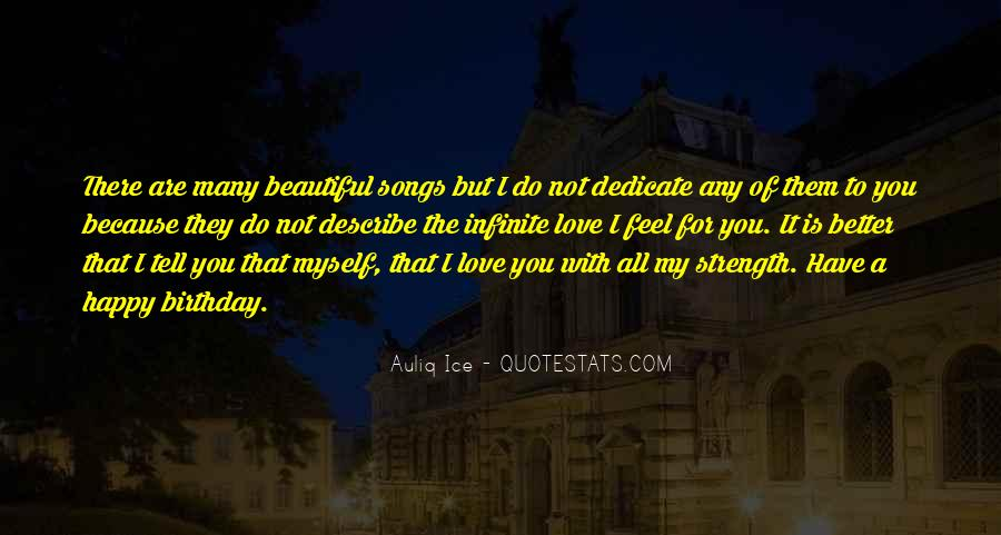 Happy Because Of Love Quotes #682826