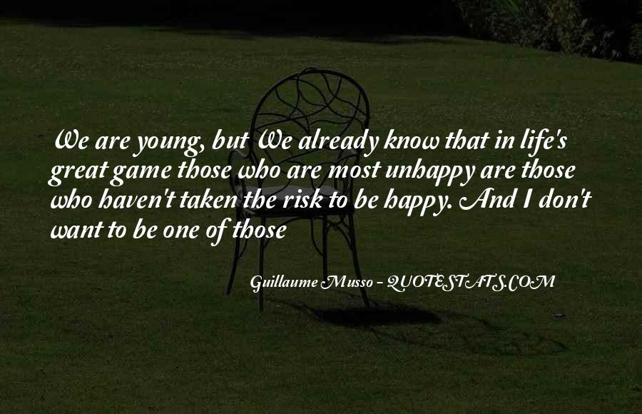 Happy But Unhappy Quotes #1143107
