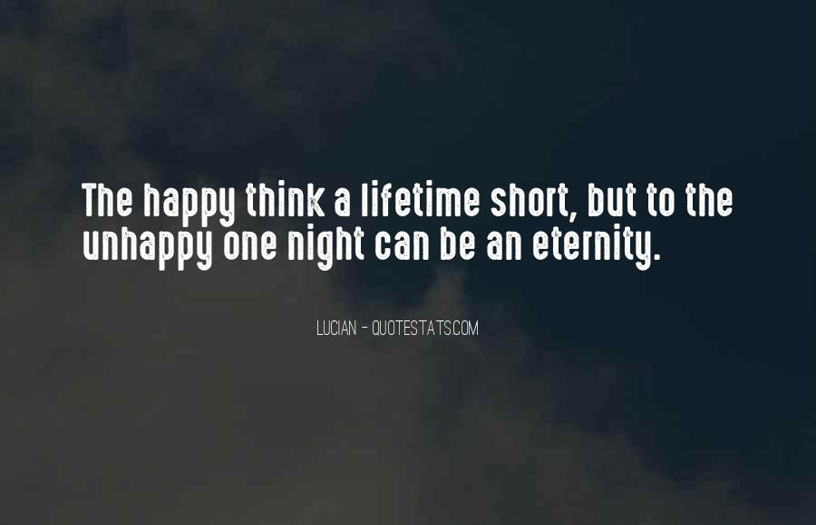Happy But Unhappy Quotes #1386595