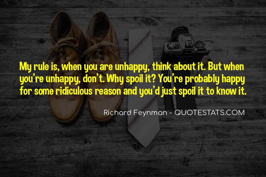 Happy But Unhappy Quotes #1621848