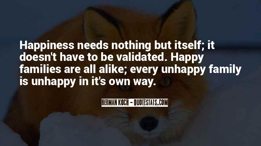 Happy But Unhappy Quotes #1721783