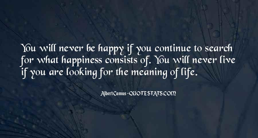 Happy Life Search Quotes #856471
