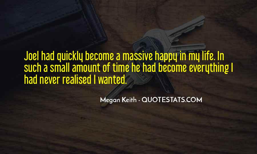 Happy Life Time Quotes #251978