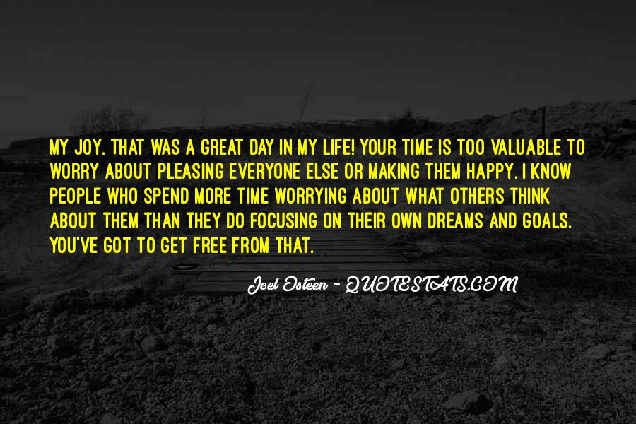 Happy Life Time Quotes #421654