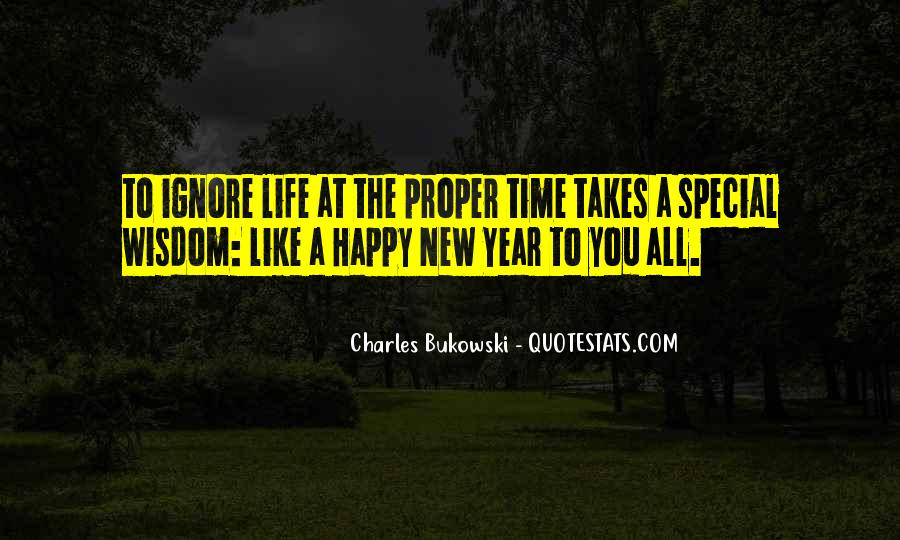 Happy Life Time Quotes #52716