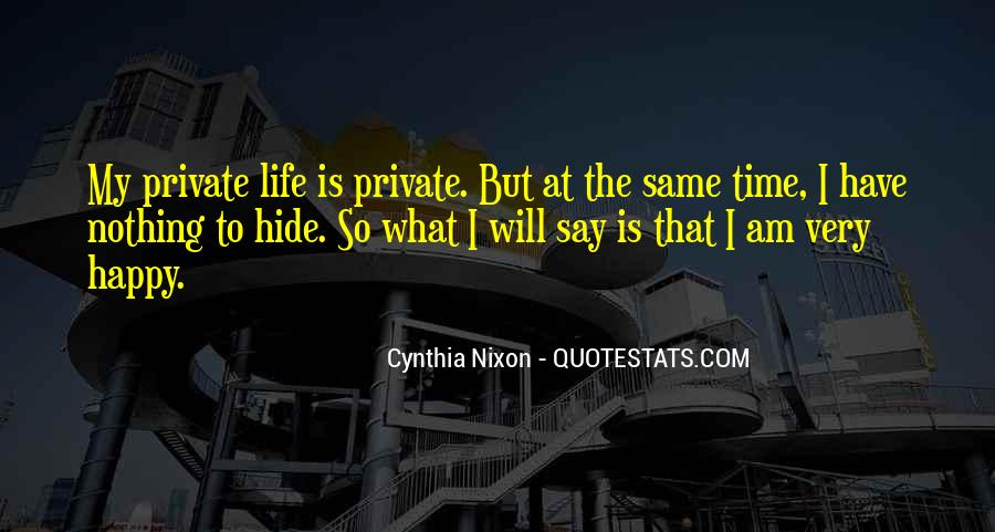 Happy Life Time Quotes #563944