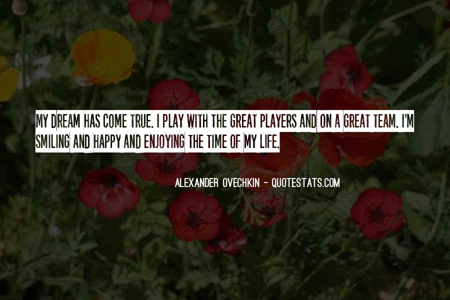 Happy Life Time Quotes #691071