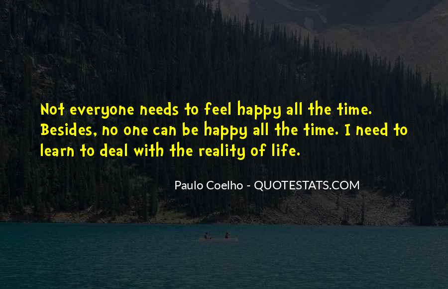 Happy Life Time Quotes #712360