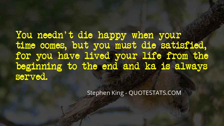 Happy Life Time Quotes #773946