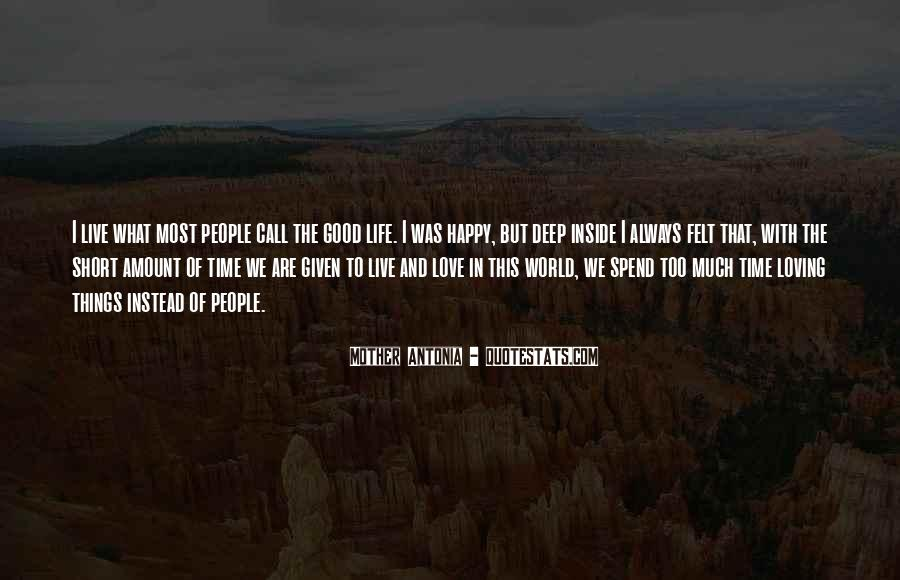 Happy Life Time Quotes #843793