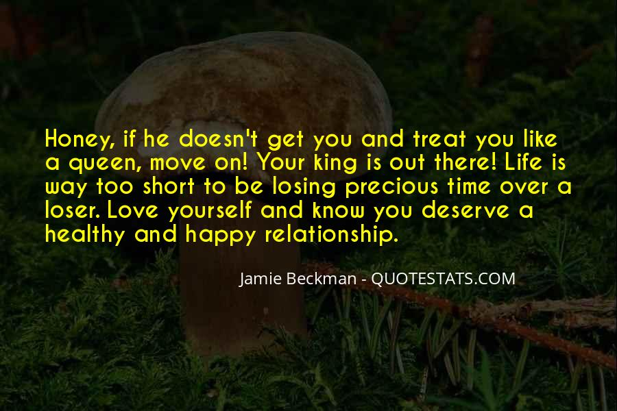 Happy Life Time Quotes #849828