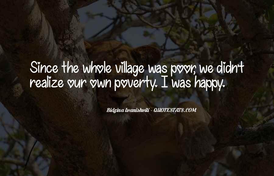 Happy Poverty Quotes #1640210