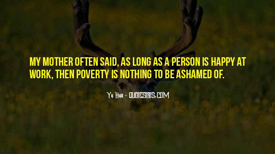 Happy Poverty Quotes #497231