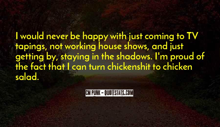 Happy Staying Quotes #1309683