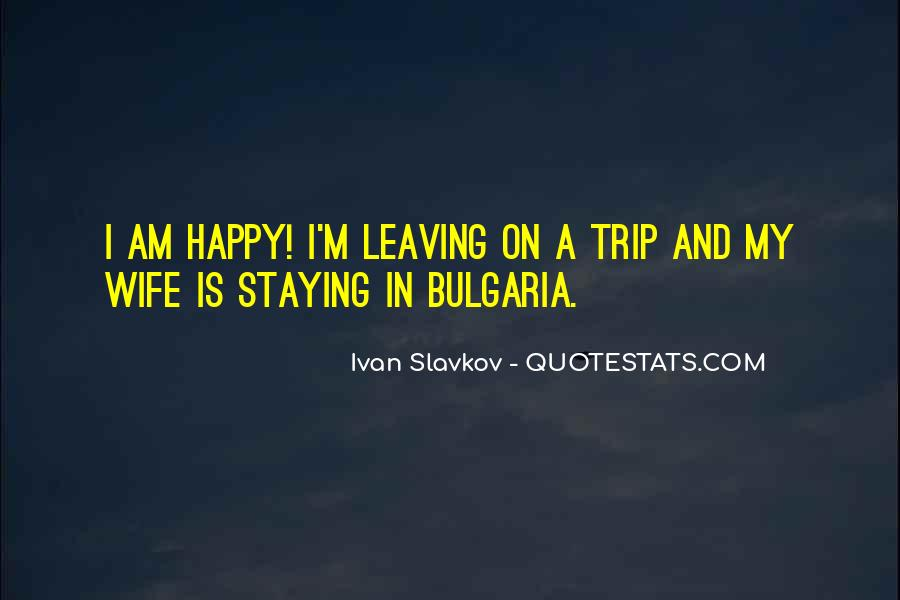 Happy Staying Quotes #481991