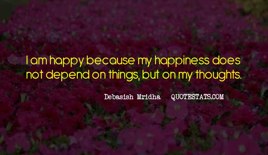 Happy Thoughts Love Quotes #1088529