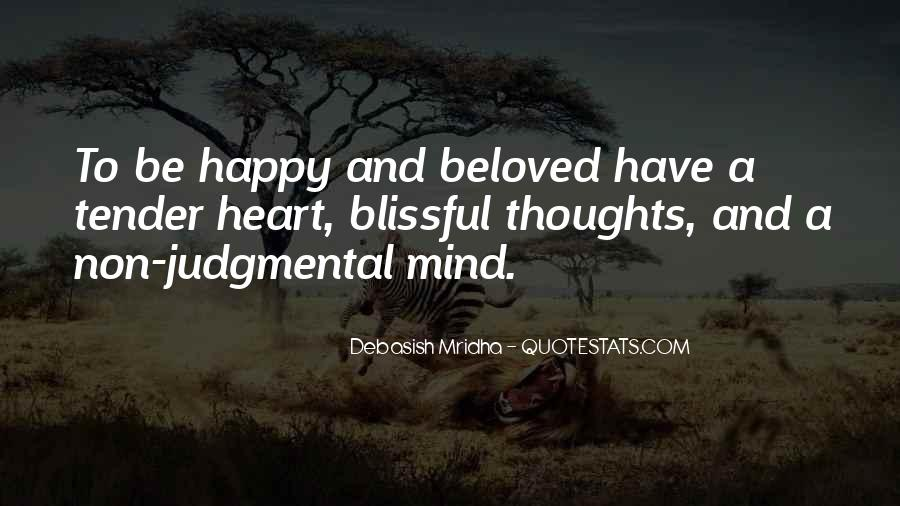 Happy Thoughts Love Quotes #1543816