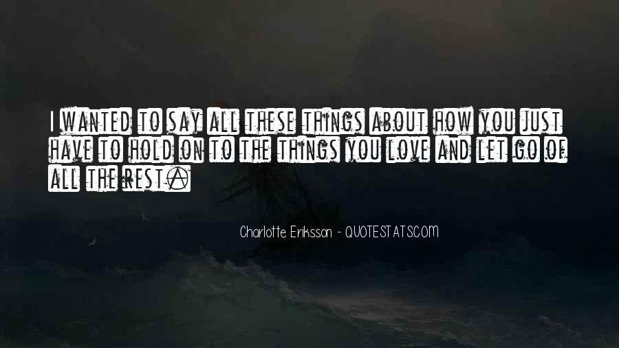 Happy Thoughts Love Quotes #1586920