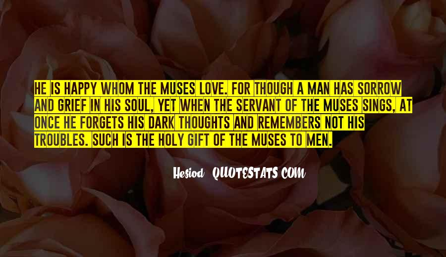 Happy Thoughts Love Quotes #568333