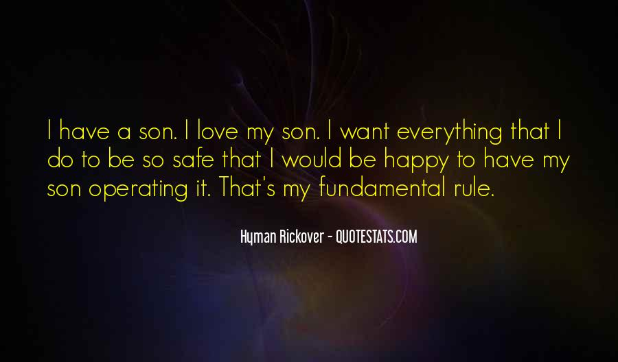 Happy To Have A Son Quotes #1067981