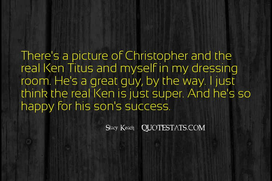 Happy To Have A Son Quotes #587509