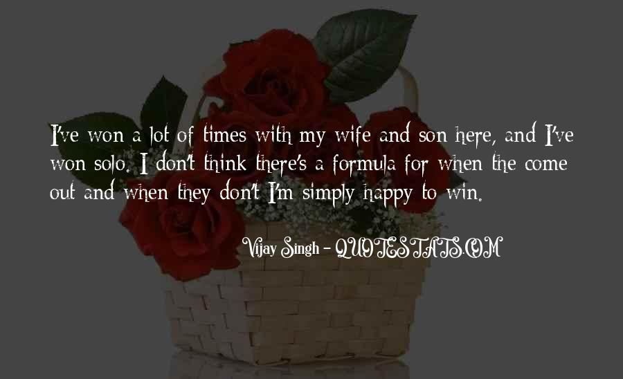 Happy To Have A Son Quotes #920850