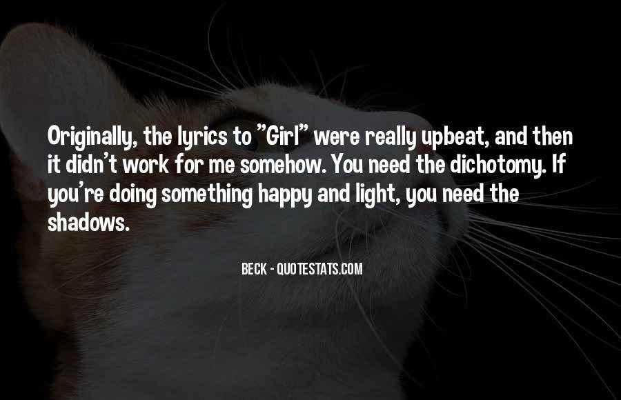 Happy Upbeat Quotes #1001790