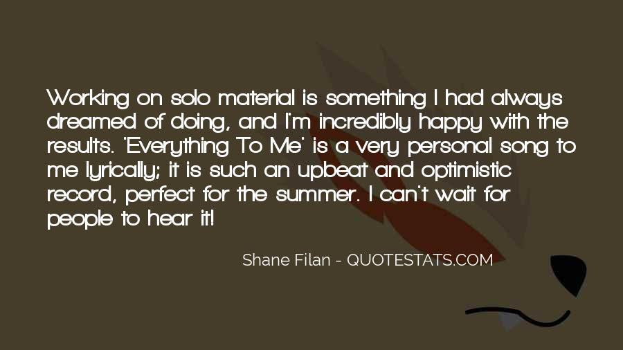 Happy Upbeat Quotes #962674