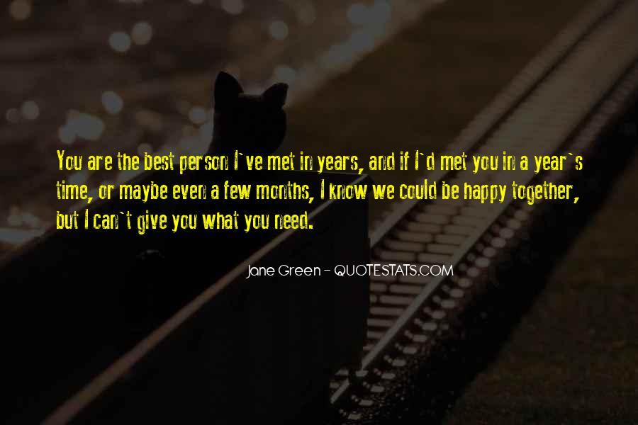 Happy We Met Quotes #1471297
