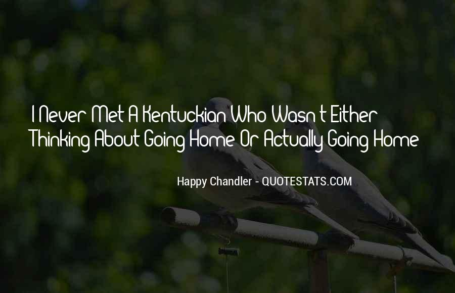 Happy We Met Quotes #15854