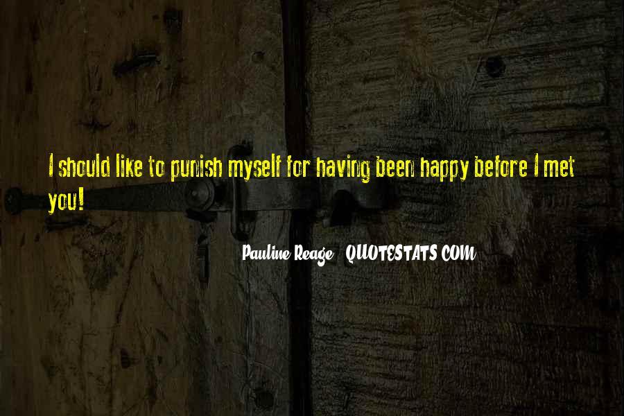 Happy We Met Quotes #211503