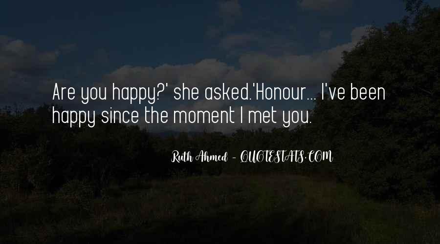 Happy We Met Quotes #6658