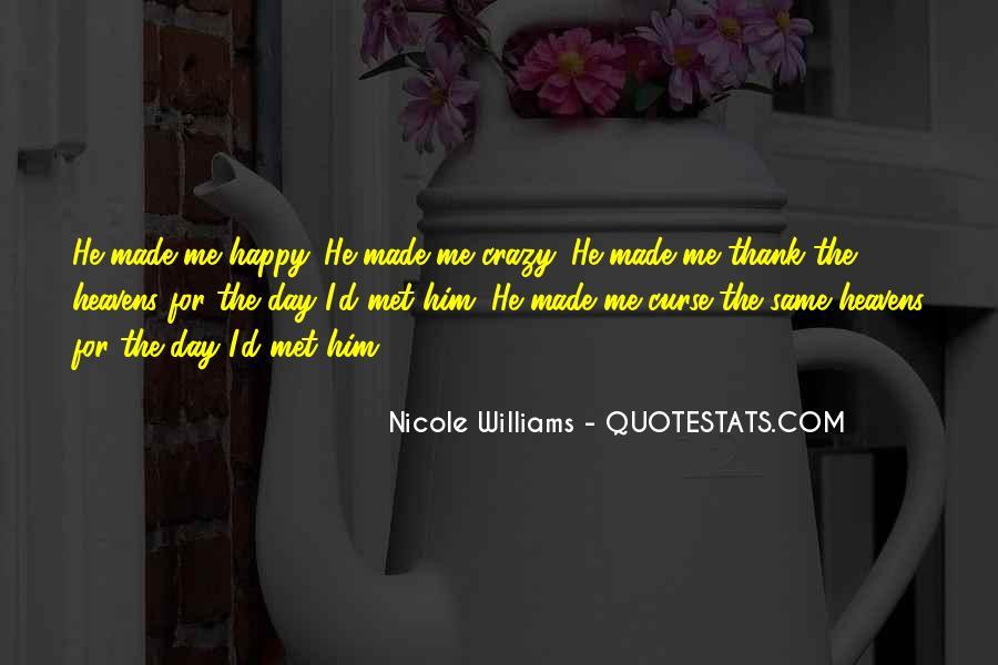 Happy We Met Quotes #866071