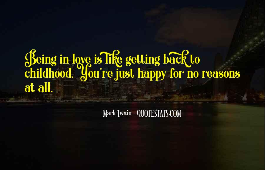 Happy You're Back Quotes #1269612