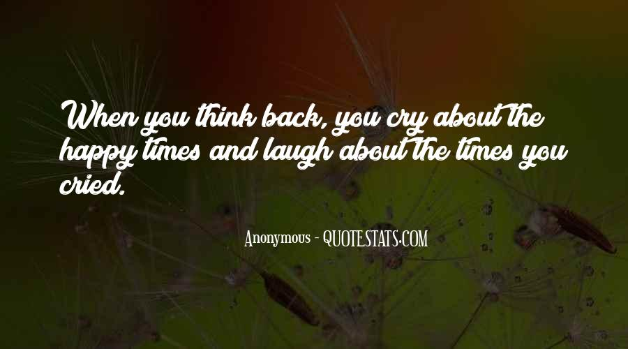 Happy You're Back Quotes #348097