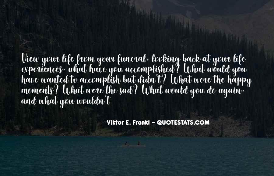 Happy You're Back Quotes #94097