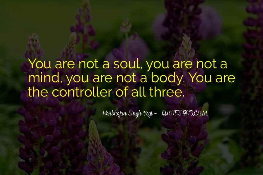 Harbhajan Yogi Quotes #102144