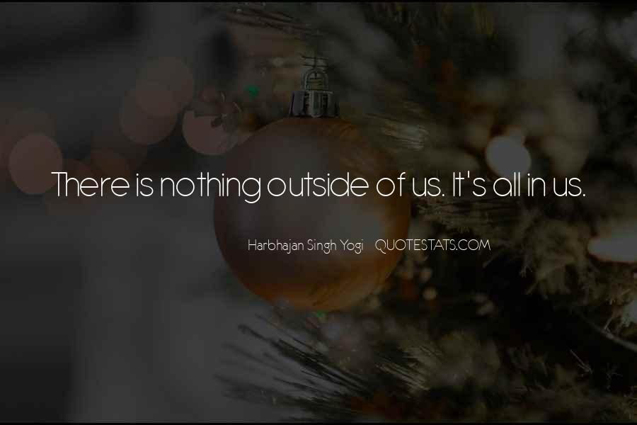 Harbhajan Yogi Quotes #136075
