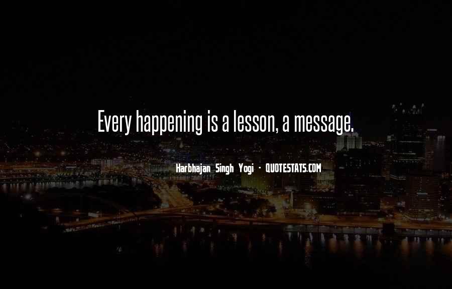 Harbhajan Yogi Quotes #206475