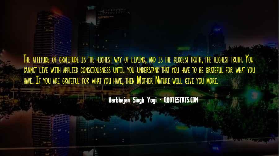 Harbhajan Yogi Quotes #245570
