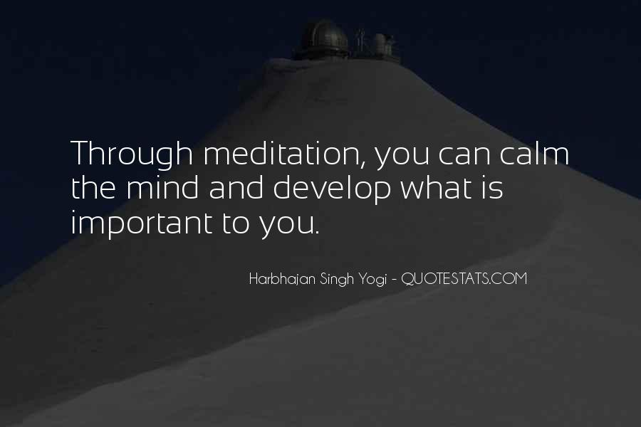 Harbhajan Yogi Quotes #253711