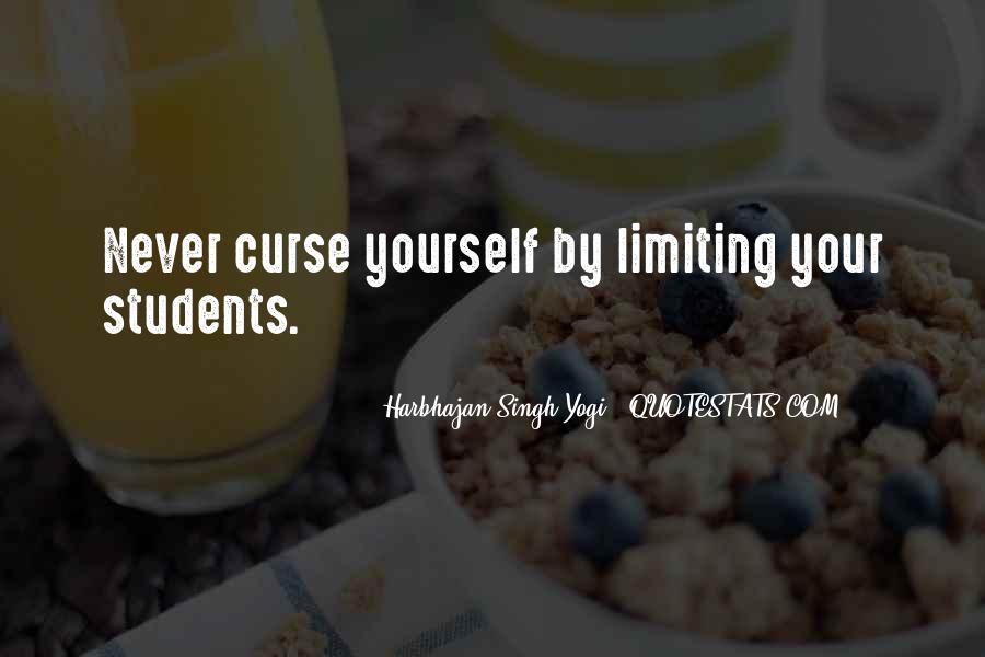 Harbhajan Yogi Quotes #25867