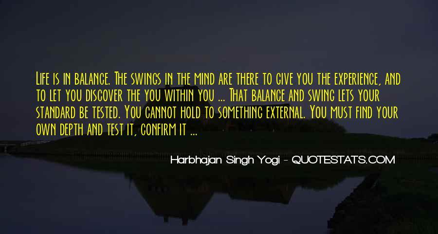 Harbhajan Yogi Quotes #266412