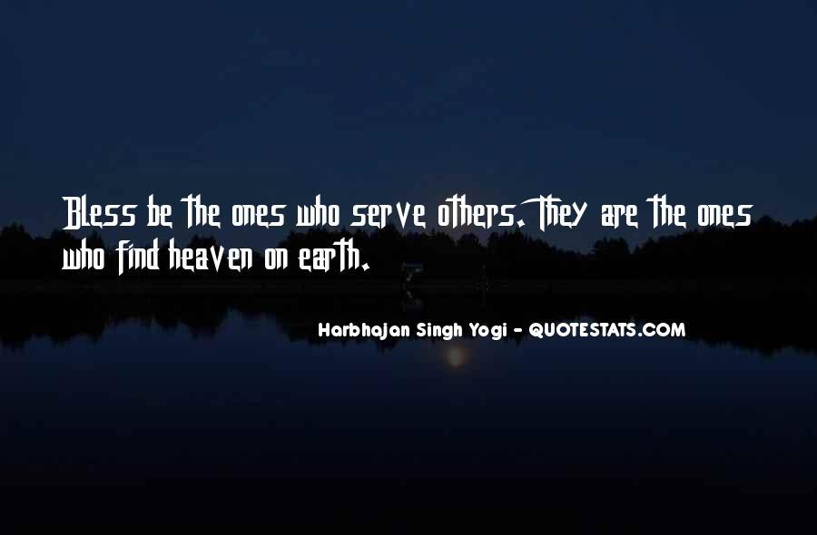 Harbhajan Yogi Quotes #306333