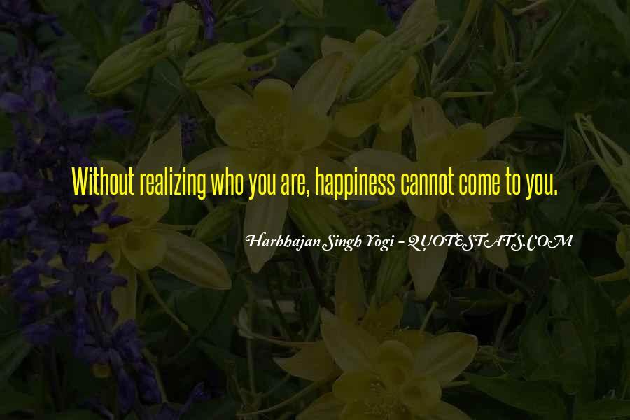 Harbhajan Yogi Quotes #31610