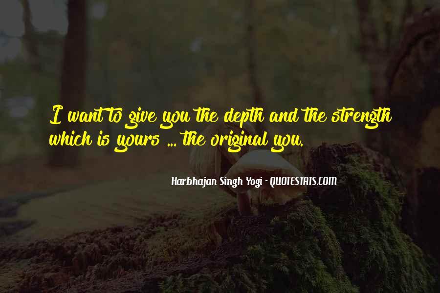 Harbhajan Yogi Quotes #369378