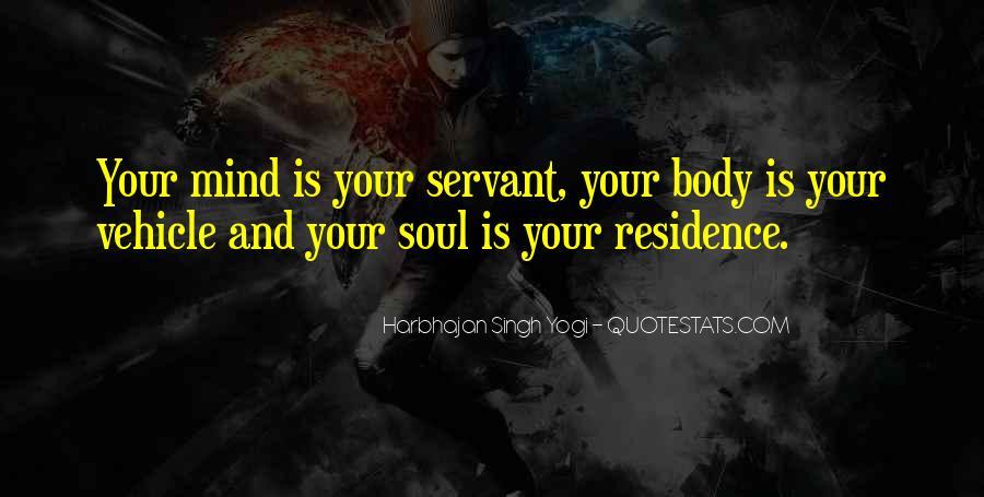 Harbhajan Yogi Quotes #393516