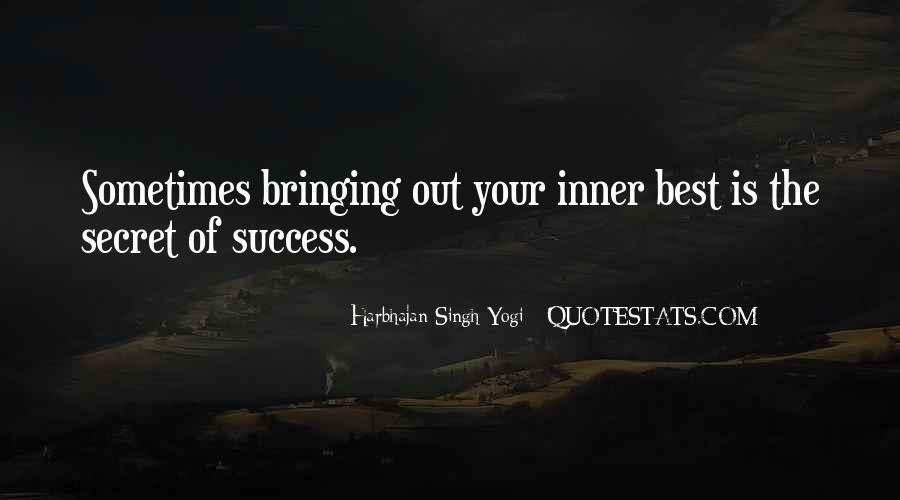 Harbhajan Yogi Quotes #432259