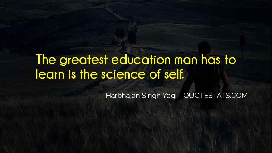 Harbhajan Yogi Quotes #456290