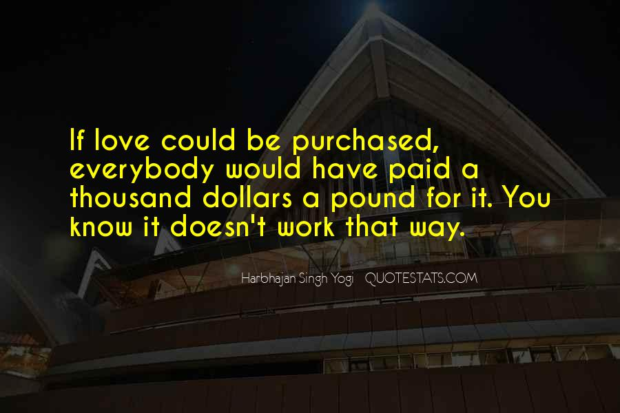 Harbhajan Yogi Quotes #550544